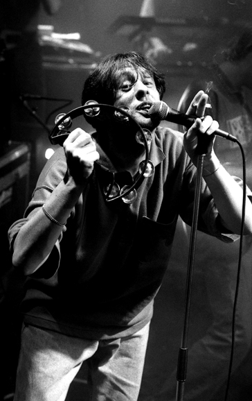 Shaun Ryder - The Happy Mondays - OSM Other Side of Midnight party Granada Studios Manchester - July 1989