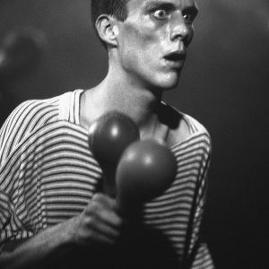Bez - The Happy Mondays live at the Free Trade Hall Manchester