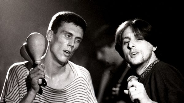 Shaun Ryder & Bez - The Happy Mondays live at the Free Trade Hall Manchester