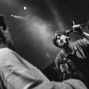 Shaun Ryder - The Happy Mondays -OSM party Granada Studios - July 1989 - ©peterjwalsh.com