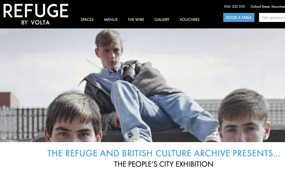 The Refuge British Culture Archive The Peoples City Exhibition PETER J WALSH